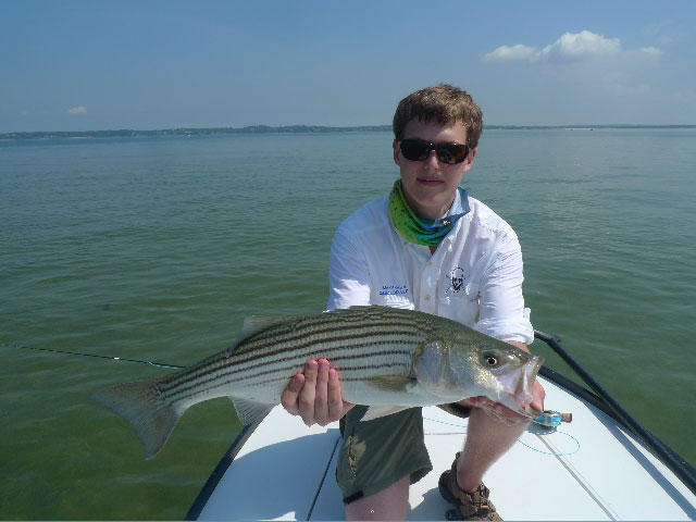 Flats fishing in Shinnecock Bay w Max Kramer